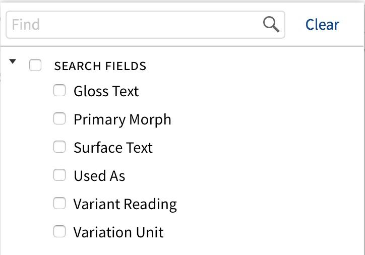 Morph Search – Logos Help Center